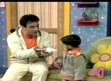اولین اجرای عموپورنگ و امیرمحمد در تلویزیون