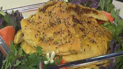 نان تبدون گوشتی (نان محلی خوزستان)