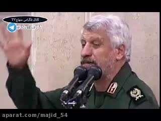 مداحی آهنگران در دیدار فرماندهان سپاه با امام خامنه ای