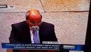نماینده پارلمان رژیم صهیونیستی پشت تریبون پارلمان اذان گفت