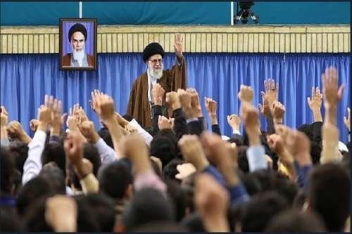 حاشیه جالب دیدار نخبگان با رهبر انقلاب