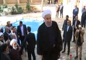 بازدید رئیس جمهوری از بیت تاریخی امام خمینی(ره)