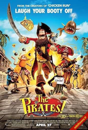 دانلود انیمیشن دزدان دریایی! نخالهها - The Pirates! Band of Misfits