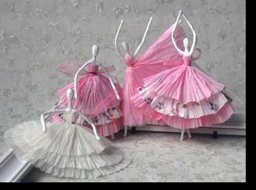 آویز عروسکی زیبا با سیم و کاموا