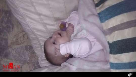 نوزاد 6 هفتهای که به حرف آمد!