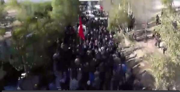 تشییع پیکر شهدای گمنام در داراب