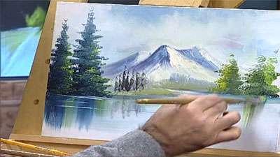 نقاشی رنگ و روغن منظره