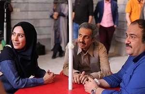 پشت صحنه سریال طنز «مهران غفوریان»