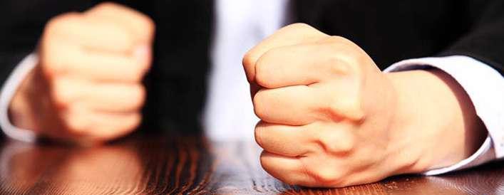 خشم به اندازه عشق نابینا می کند!