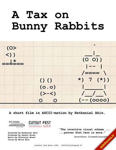 مهمان ناخوانده خرگوشها - A Tax on Bunny Rabbits