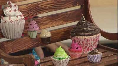 کاپ کیک تزئینی (1)