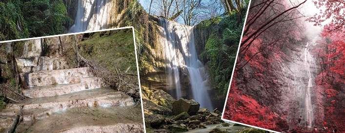 «آنجلی کا» و «ترز» آبشارهایی در ایران!
