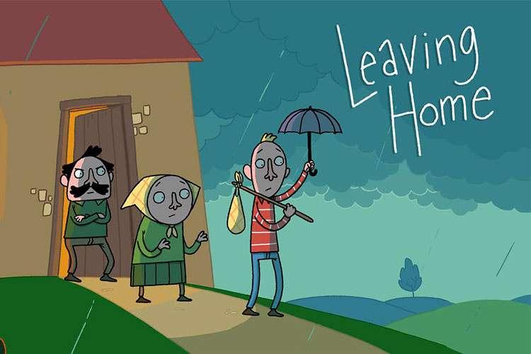 انیمیشن کوتاه و زیبای Leaving Home