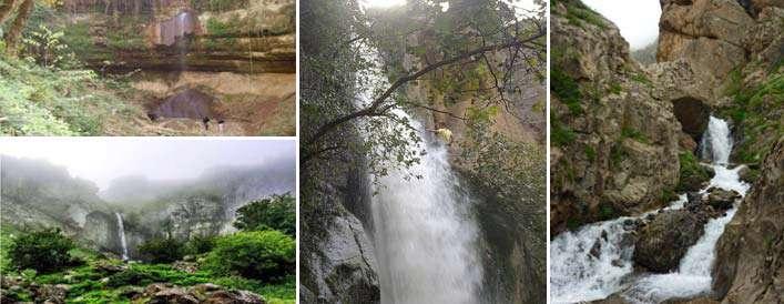 4 آبشارخروشان شمالی