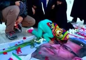 جای خالی شهید خزایی در جشن آزادسازی حلب