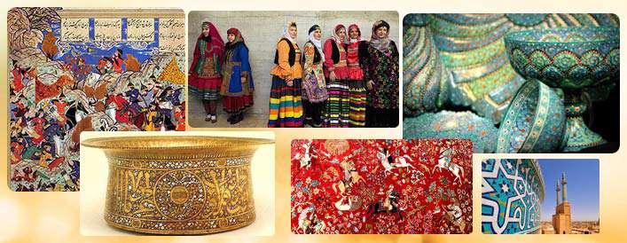 دنیای رنگ در هنر اسلامی
