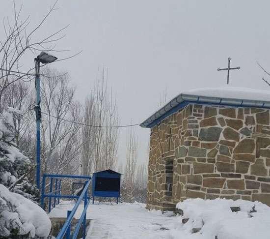 کوچکترین کلیسای ایران