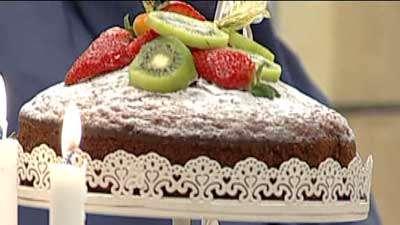 کیک گرم صبحانه