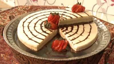 کیک پنیر یخچالی