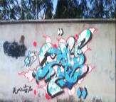 گرافیتی رودخانه شیراز