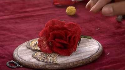 گل رز تیتانیوم