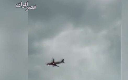 نجات معجزه آسای هواپیمای روسی!