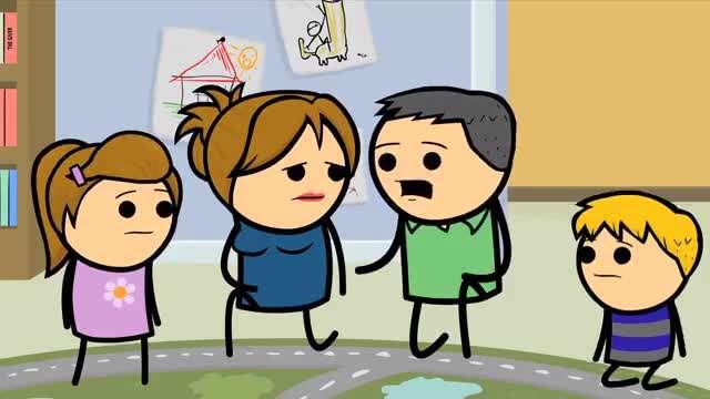 انیمیشن خل و چل ها / طلاق