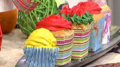 کاپ کیک تزئینی (2)
