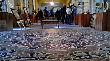 نمایشگاه آثار گره چینی استاد نعیمایی ، میهمان سازمان میراث فرهنگی