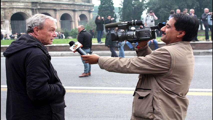 شوخی با خبرنگار اعزامی به رُم
