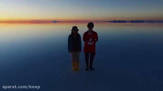 ماه عسل دیدنی یک زوج در 48 کشور جهان با پهپاد