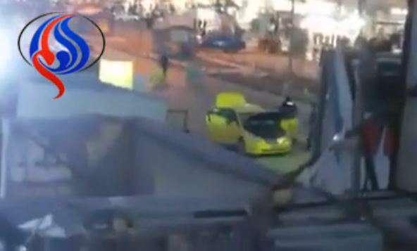 لحظه انفجار در بغداد