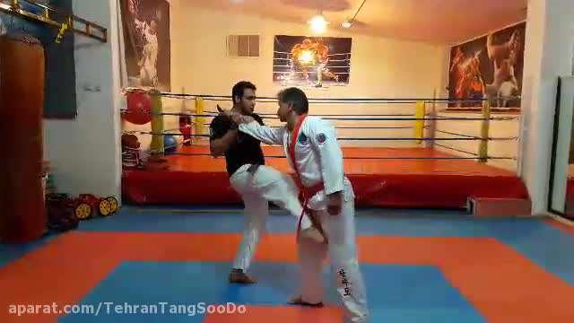 دفاع شخصی چاقو / تکنیک ۲