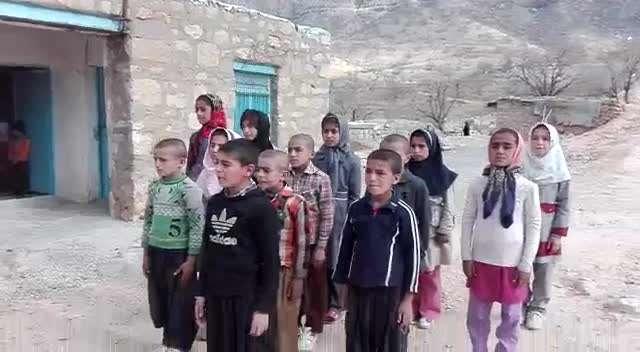 کودکان عشایری برای امام خامنهای خواندند
