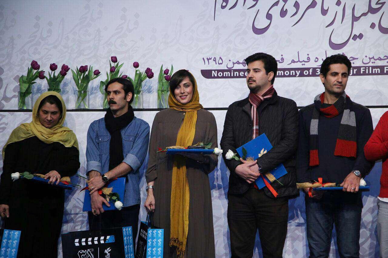 تجلیل از کاندیداهای بخش طراحی لباس جشنواره فجر
