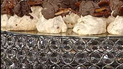 شیرینی پفی گردویی