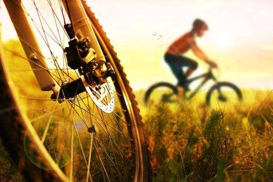لذت دوچرخه سواری حرفهای در یک صبح دلانگیز