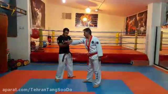 دفاع شخصی چاقو / تکنیک ۴