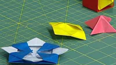 اوریگامی لباس دخترانه