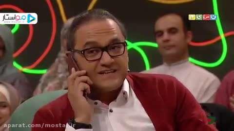 تماس تلفنی نگار جواهریان با رامبد جوان در خندوانه