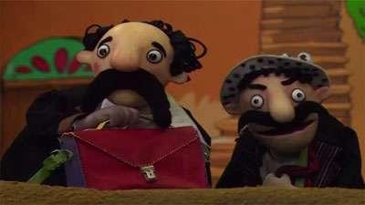 شکرستان عروسکی / اهالی شکرستان به مدرسه می روند