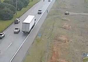 خودکشی پلیس برزیلی در حاشیه جاده