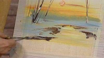 نقاشی زمستان