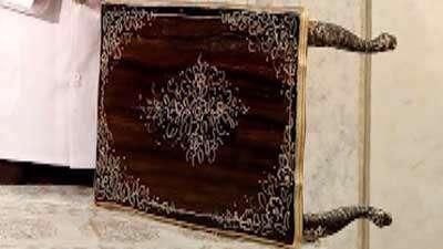 مرمت میز چوبی