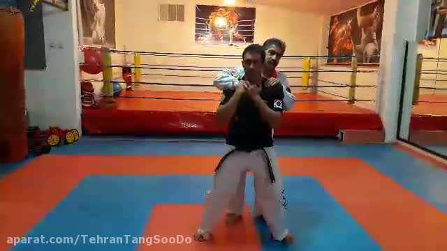 دفاع شخصی چاقو / تکنیک ۱۰