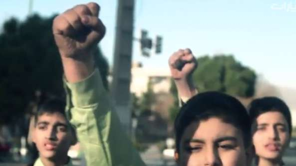 سرود نوجوانان درباره فتنه 88