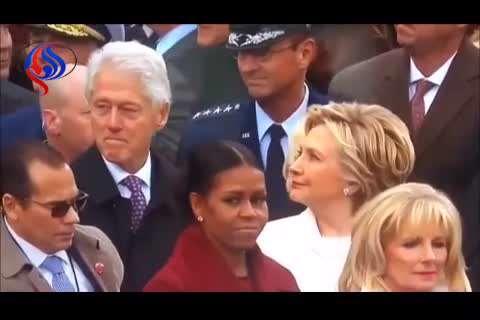 چشم چرانی بیل کلینتون و خشم نهفته هیلاری!
