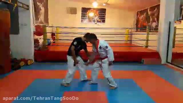 دفاع شخصی چاقو / تکنیک ۶