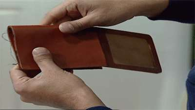 کیف  پول چرمی مردانه