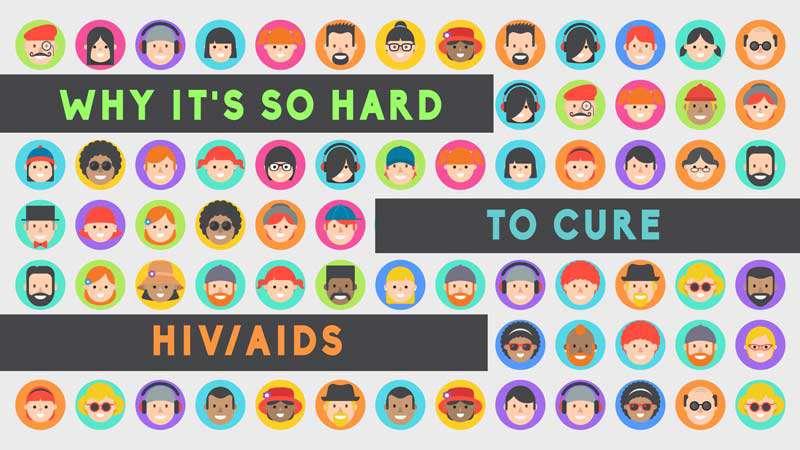 چرا درمان ایدز دشوار است؟